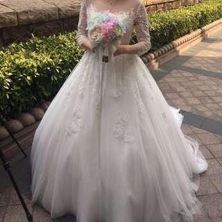 婚紗 wedding gown