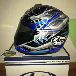 Arai okada rx7 rr4 blue M