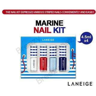 Laneige Marine Nails Set