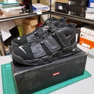 NEW SUPREME x NIKE AIR MORE UPTEMPO