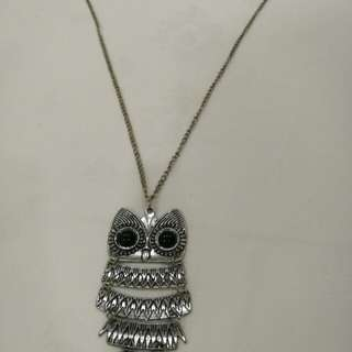 Fashion Owl necklace