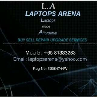 BUY/SELL/REPAIR LAPTOPs/Desktops/iphones, islandwide collect