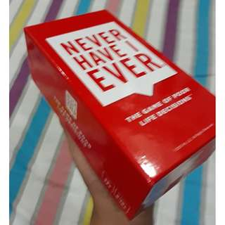 Never Have I Ever (used only once)