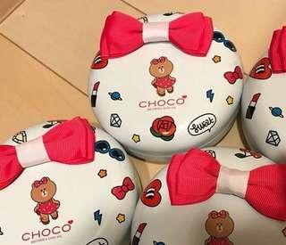 日本限定🇯🇵Line Friends CHOCO 朱古力禮盒
