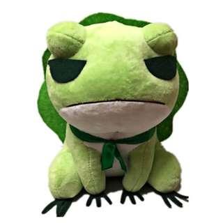 旅行青蛙毛绒公仔  20cm 30cm