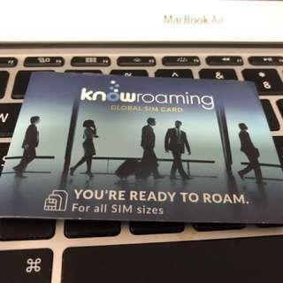 KnowRoaming 漫遊上網電話卡