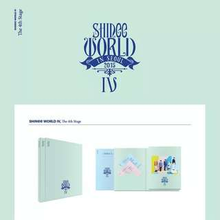 WTB SHINee World IV Concert CD