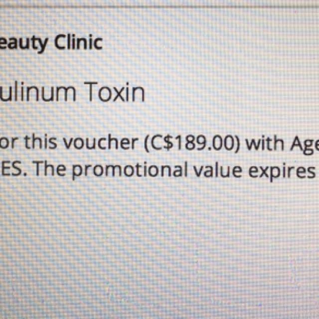 40 units botox