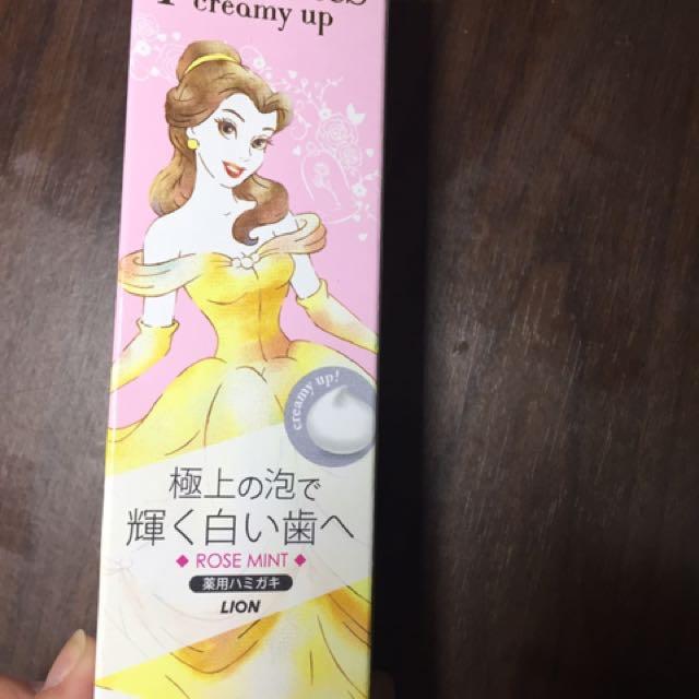 迪士尼公主系列牙膏-貝兒(玫瑰薄荷味)