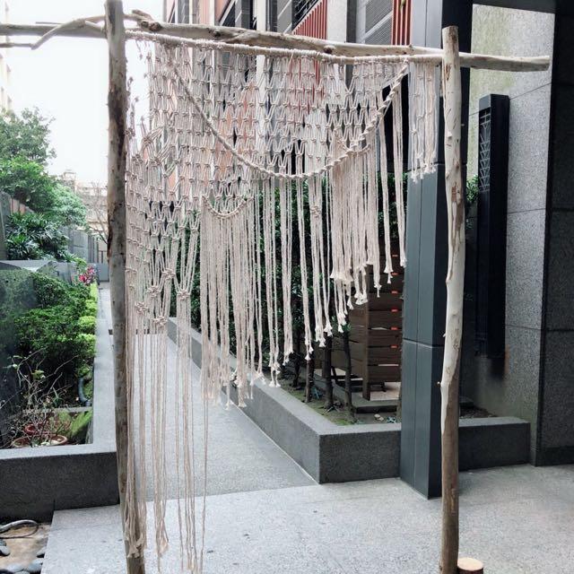 波西米亞風拱門~婚禮佈置道具出租