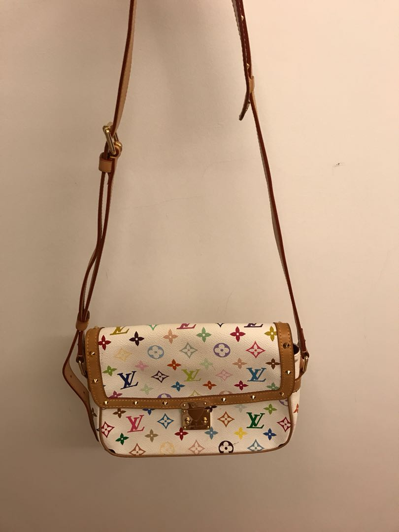 1f7254fbe34a 💯 authentic lv multicoloured vintage bag For Let Go!!, Luxury, Bags ...