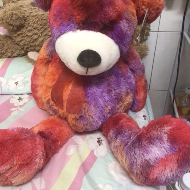 百貨公司購回 color rich 彩虹熊