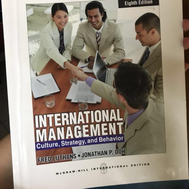 國際企業管理 international management #出清課本