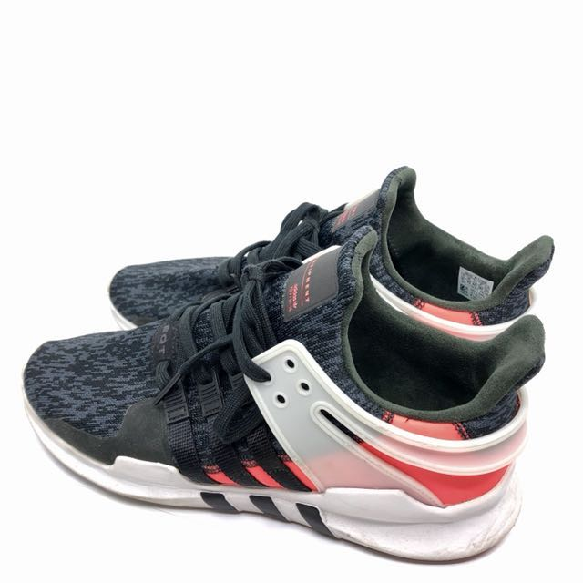 info for 7c250 2aadf Adidas EQT ADV Black Red White UK10