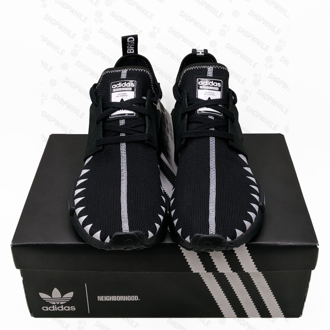 new product b86f0 b6344 adidas NMD_R1 Neighborhood Core Black (DA8835)