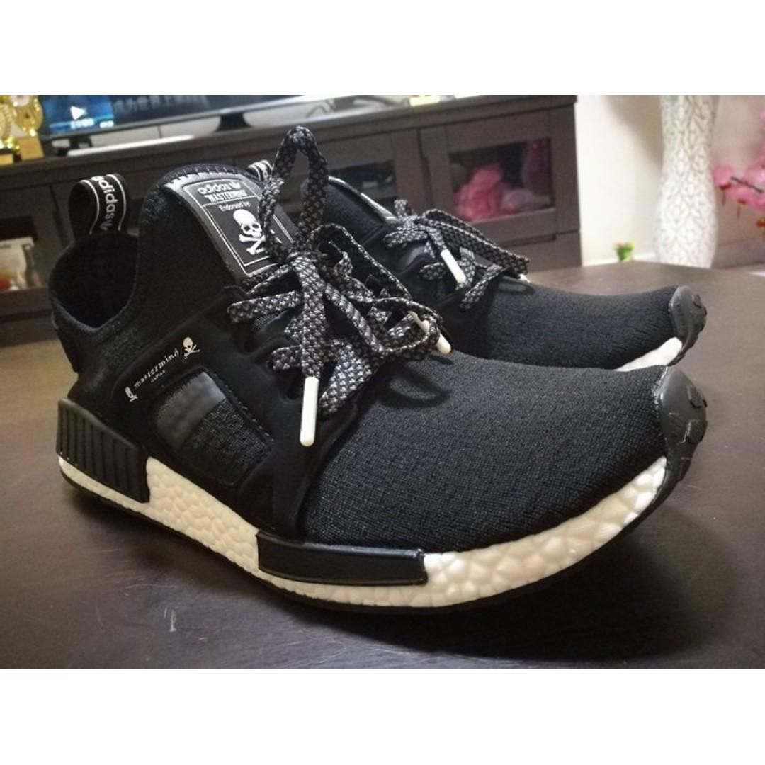 cd88d626821b0 Adidas Nmd Xr1 X Mastermind Black To Let Go