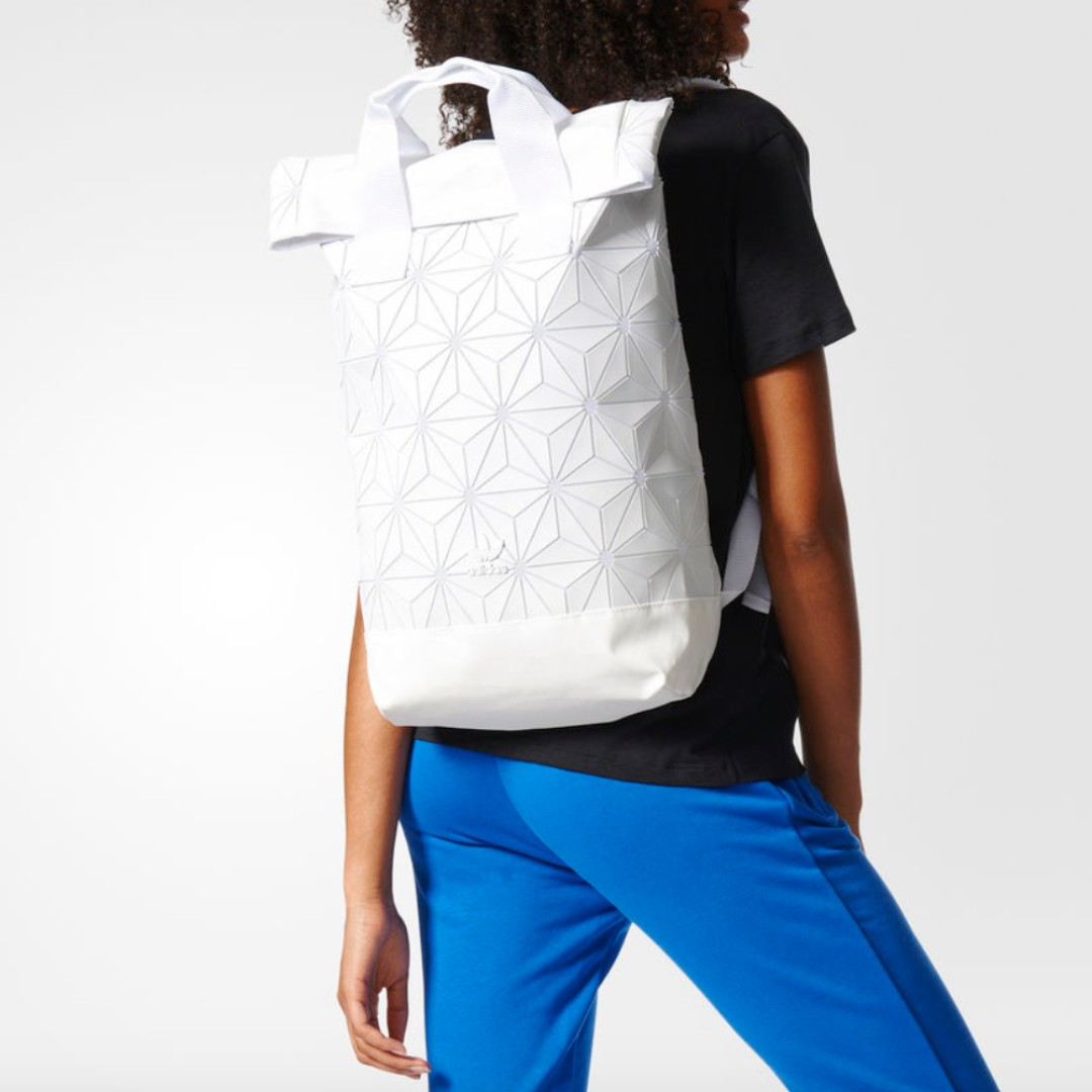 adidas urban backpack 3d issey miyake white 3fd31339a3a81