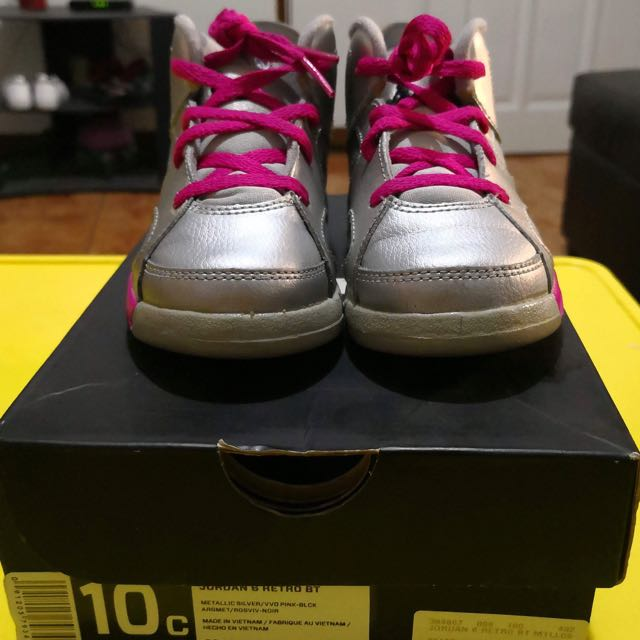 "Air Jordan 6 Retro GS ""valentines day"""
