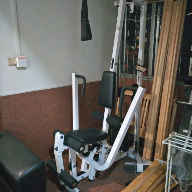 All in one home gym body solid exm s single stack home gym