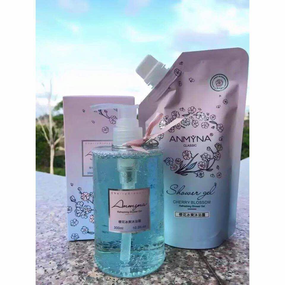 Anmyna cherry blossom shower gel, Health & Beauty, Skin, Bath ...