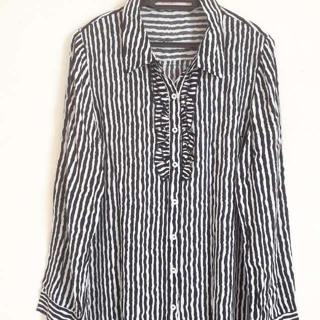 Applemints Stripes Long Slv Shirt
