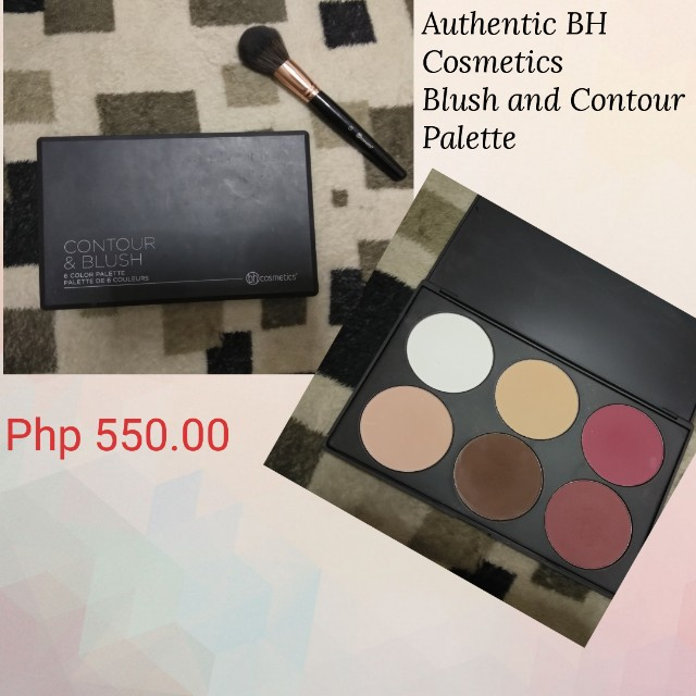 Authentic BH Cosmetics Blush and Contour Palette