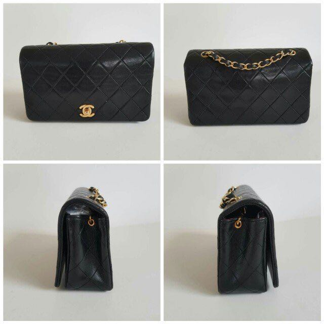 Authentic Vintage Chanel Rectangular Mini in GHW