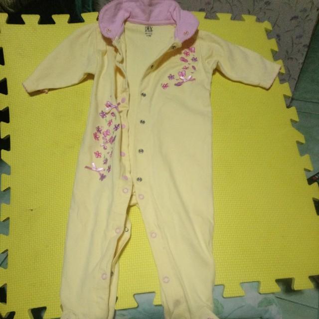 Baby overall onesie
