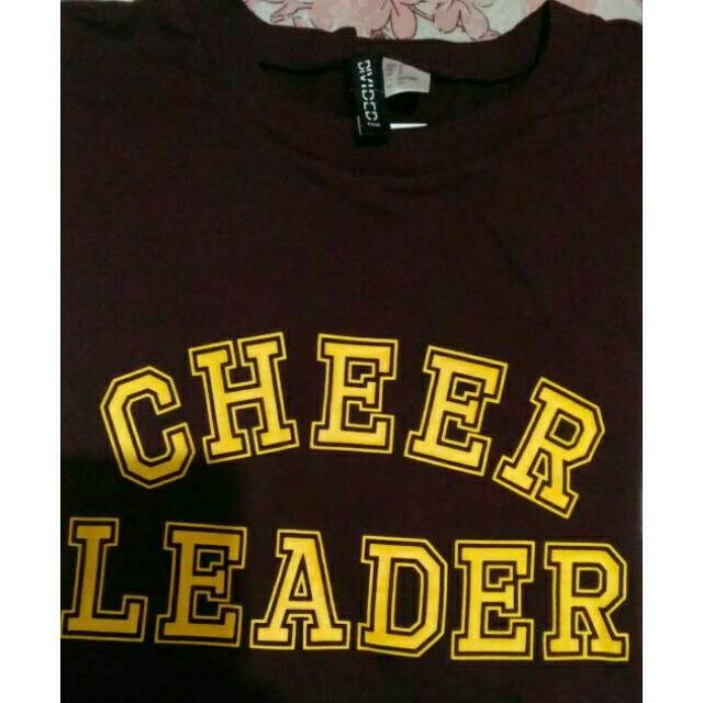 Baju Tshirt Sweater Outerwear Wanita Woman Cheerleader H&M