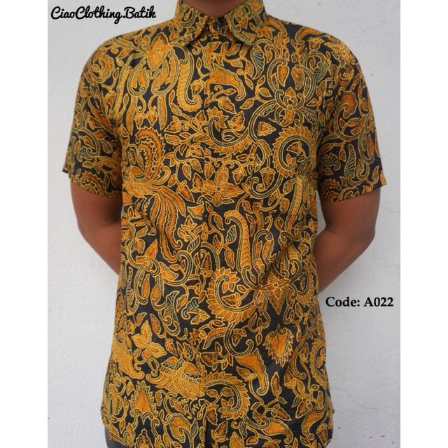 Batik Shirt, Men s Fashion, Clothes, Tops on Carousell eb42aa6ca41