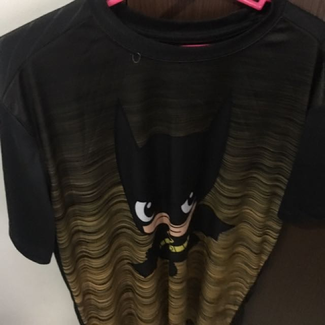 Batman Drifit Shirt size Large