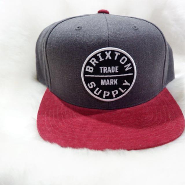 0199de1f609cd2 Brixton Oath III Snapback Hat, Men's Fashion, Accessories, Caps ...