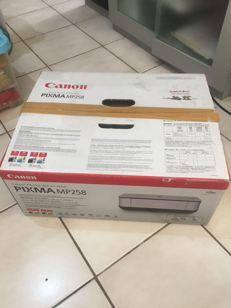 Canon printer(gratis kalau belanja 500.000)