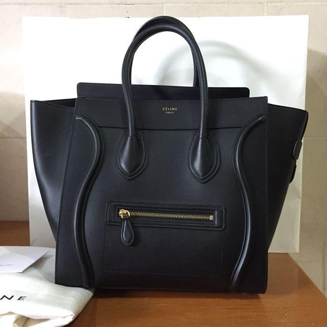 Celine Luggage Mini Bag