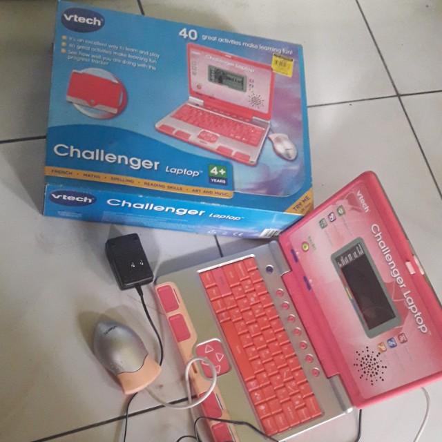 Challenger lap tap