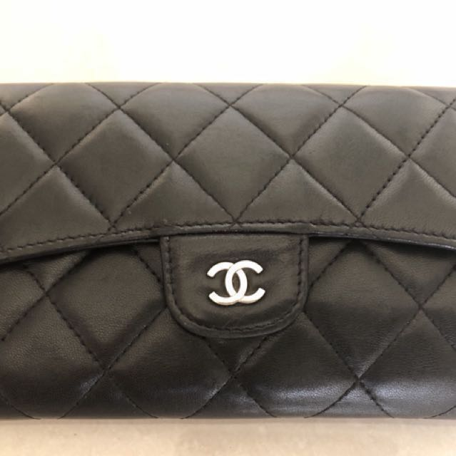 031b20778c90 Chanel wallet classic flap Authentic Price Reduced, Luxury, Bags ...
