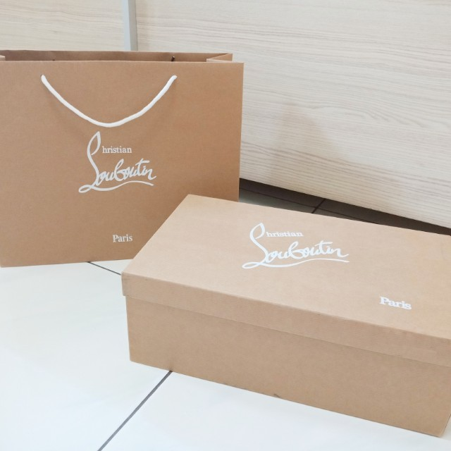 42f93361a958 Christian Louboutin paperbag authentic branded paper bag box ...