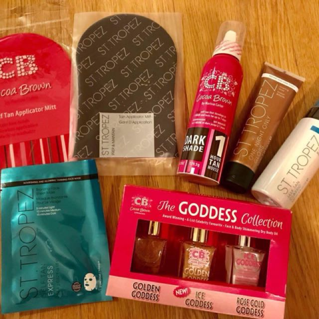 Cocoa Brown and St.Tropez Tanning Set