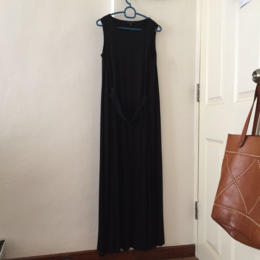79afe398bb8 COS Black Maxi Dress