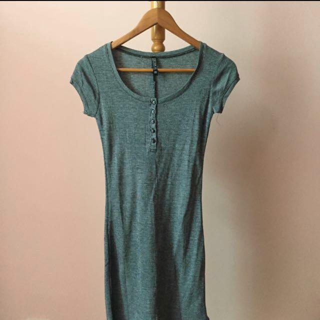 Cotton on button down dress