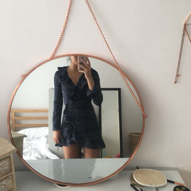 Cute wrap up dress