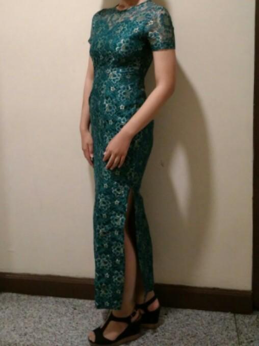 Dress Kebaya Diamond Green