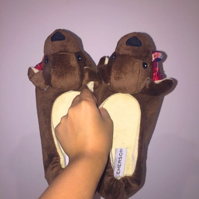 Emerson Puppy Slippers