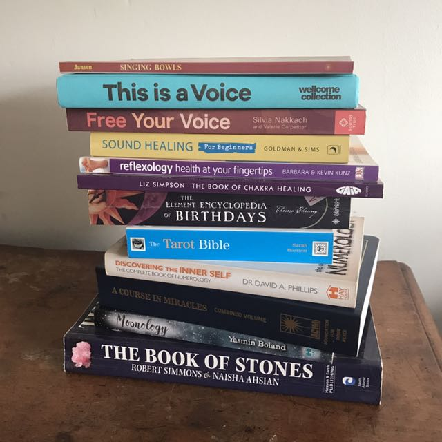 Esoteric and sound healing books