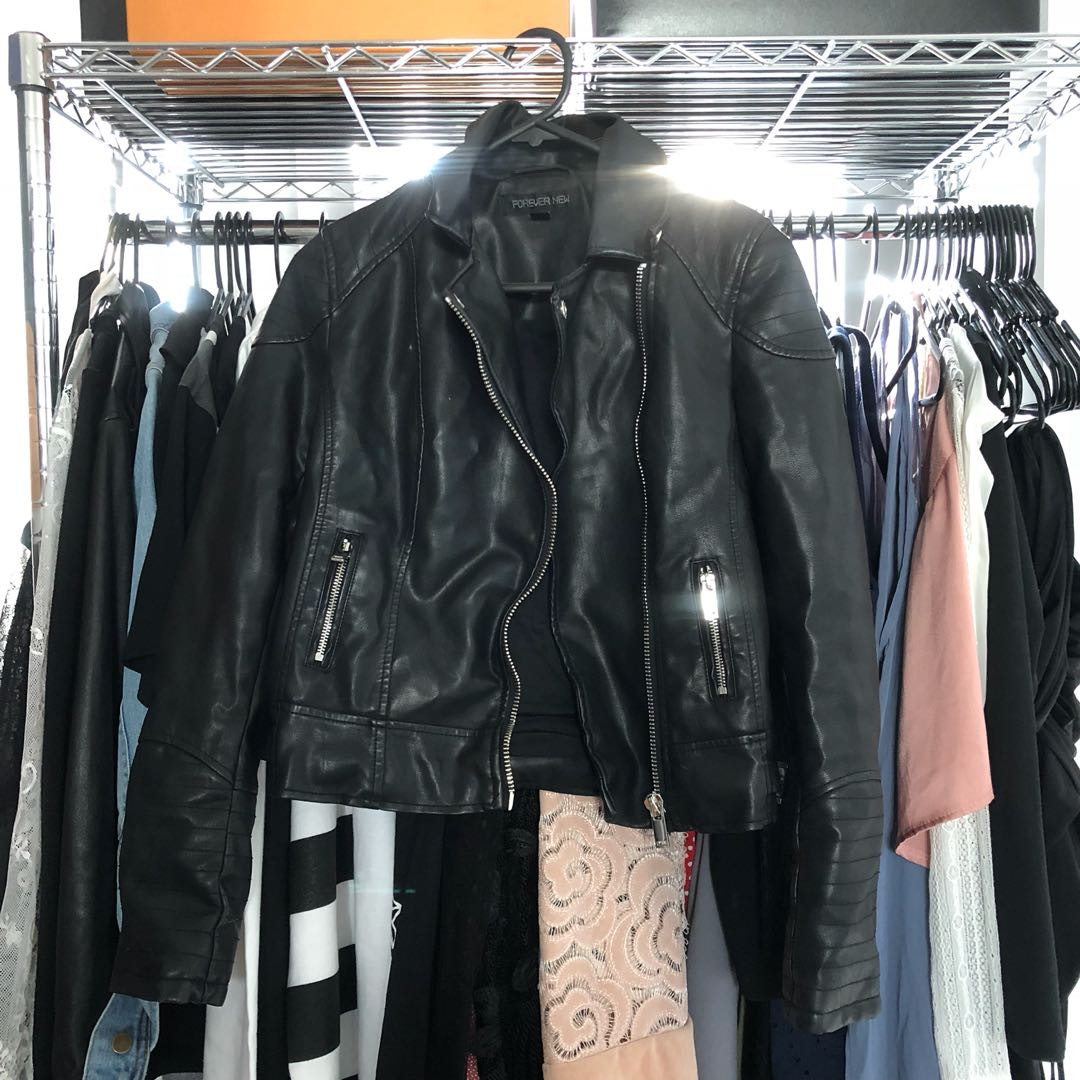 Forever New Faux Leather Jacket