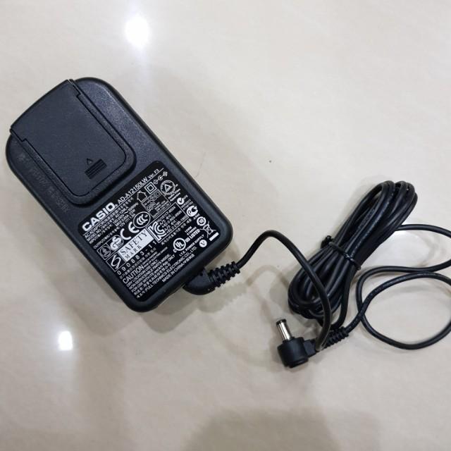Free Casio Adaptor 12AV