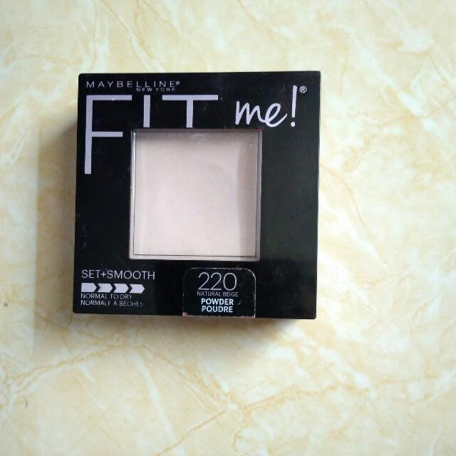 Maybelline Fit Me Set Smooth