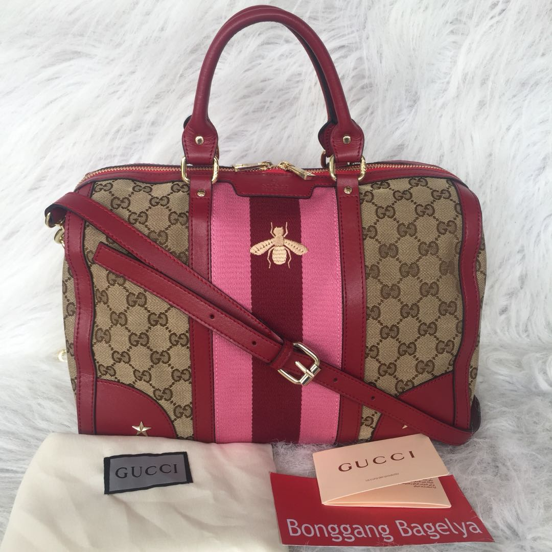 Gucci Boston Bag Womens Fashion Bags Wallets On Carousell Speedy