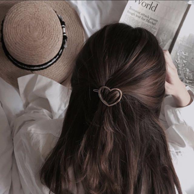 📮Heart Shaped Metal Hair Pin