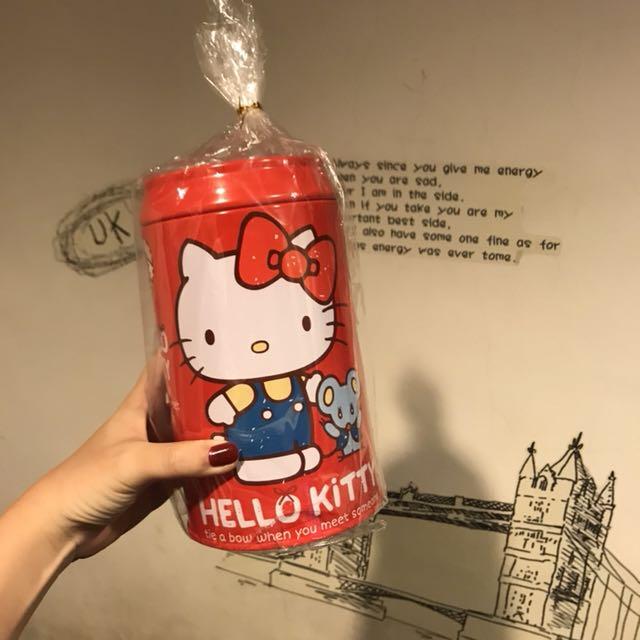 Hello kitty存錢筒